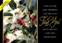 Berry Grateful Holiday Cards