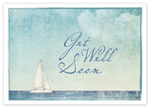 Smooth Sailing Get Well Cards